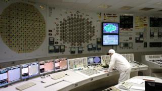Пункт управления вторым энергоблоком ЛАЭС-1 в Ленинградской области