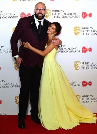 Tom Davis and Michelle Keegan