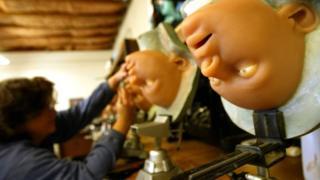 2004 file picture of silicone sex dolls in California
