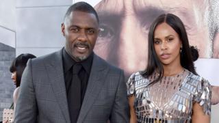 Idris Elba and im wife Sabrina