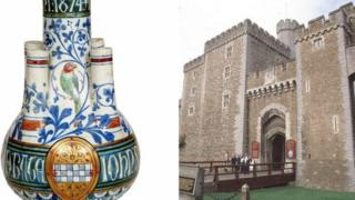 The William Burges vase and Cardiff Castle