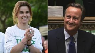 Jo Cox and David Cameron