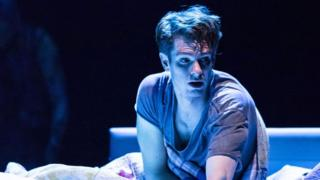 Andrew Garfield as Prior in Angels in America