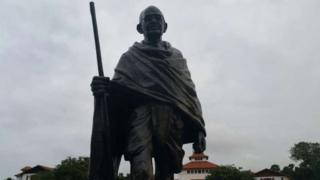 Ghana's problem with 'racist' Gandhi