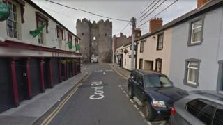 Google map picture showing Sarsfields Pub in Drogheda