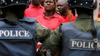 Police in Abuja Nigeria