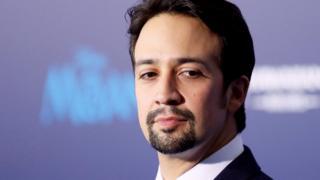 File image of actor and composer Lin-Manuel Miranda in Hollywood, California, November 14, 2016