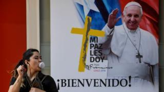 Aviso del Papa en Chile