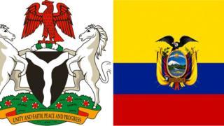 Asia Nigeria ati Ecuador