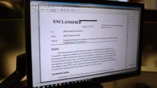 Memorando crítico ao FBI divulgado por republicanos