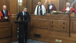 Freedom of Bournemouth ceremony