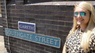 Megan Wheeler on Southgate Street