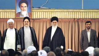 چهار رئیس جمهور دودوره ای ایران در یک قاب