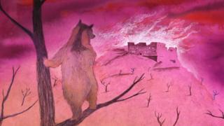 Illustration from Wojtek animation