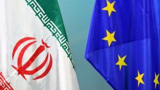 پرچم اتحادیه اروپا و ایران