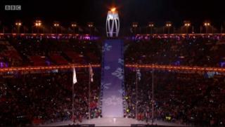 Xafladda ayaa socota Pyeongchang