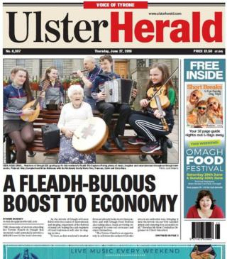 Front cover of the Ulster Herald