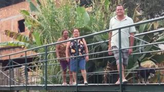 Manoelina dos Santos, Juracy da Conceição e Adalto José Soares