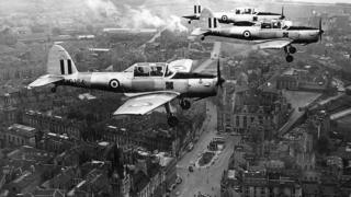 Planes over Aberdeen