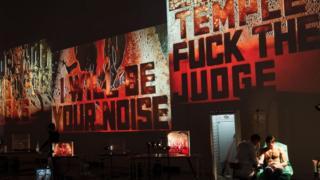 Слова и целые фразы наполнены человеческой кровью. Это строчки из запрещенных цензурой песен