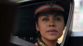 Rosa, policía de tránsito mexicana