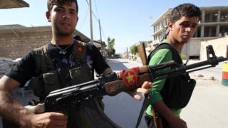 YPG üyeleri