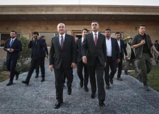 مولود چاووش اوغلو، وزیر خارجه ترکیه اخیرا در سفری رسمی به عراق رفته است