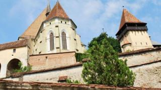 """La """"prisión marital"""" de Transilvania"""