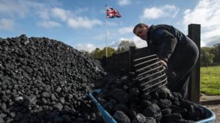 Угольная куча в Великобритании