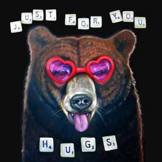 Michael Forbes' painting Hugs