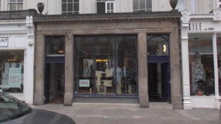 Gant shop on Edinburgh's George Street