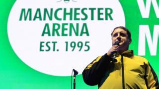 Peter Kay at Manchester Arena