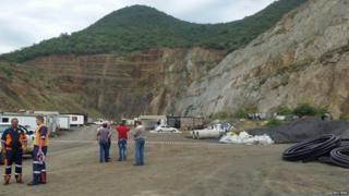 rescue operations at lily mine