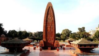 जालियनवाला बागेतलं स्मारक