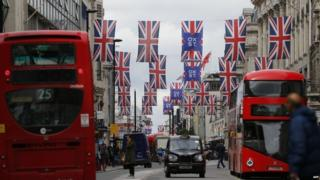 Oxford Street in central London