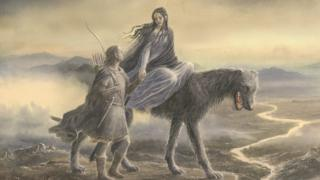 The cover of Beren and Lúthien