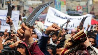 مظاهرات مؤيدة للإمارات في عدن