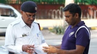 ટ્રાફિક પોલીસ