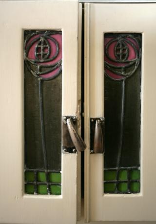 Hill house door panels