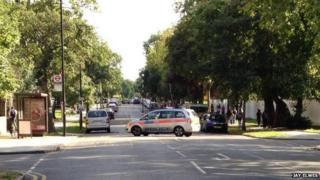 Kings Avenue, near scene of shooting