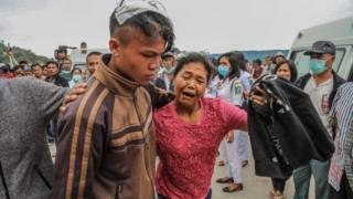 Dozens of people remain missing after a ferry sank in Lake Toba in North Sumatra, Indonesia, 19 June 2018