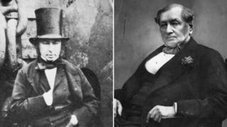Isambard Kingdom Brunel and Daniel Gooch