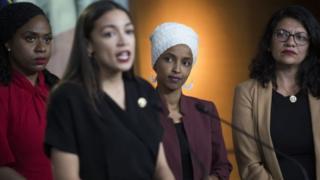 Jovens do Congresso americano que fazem duras críticas a Trump