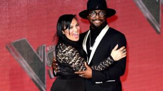 Michelle John and Will.i.am