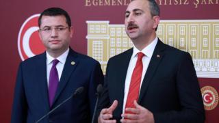 Abdülhamit Gül ve Mehmet Parsak