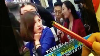13日,一段中国中央电视台的直播画面在中国社交网络被疯狂转发。