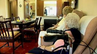 Northern Ireland Care home for the elderly