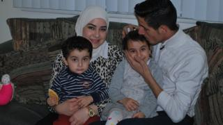 Nedal and family