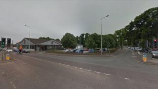 Aldi, on the junction of Dereham Road and Larkman Lane, Norwich