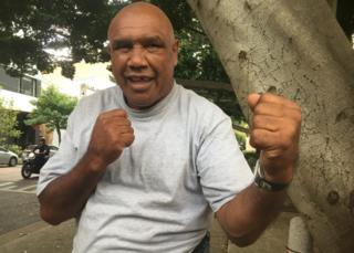 Wally Carr strikes a boxing pose in Sydney recently
